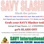 Reduce Yoga Costs with SAVY Slasher